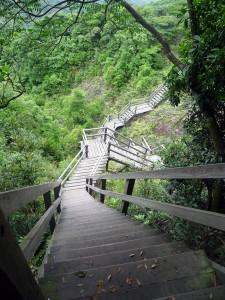 Escaliers Ile de Lantau
