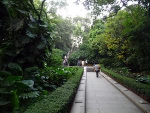 Escaliers Parc Yuexiu