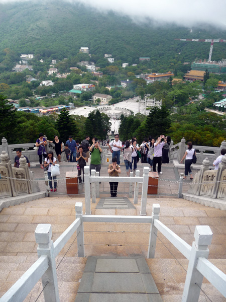Escaliers Bouddha