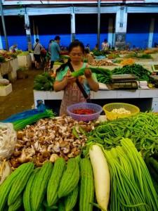 Legumes Marché Yangshuo