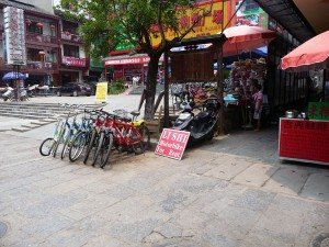 Location scooter Yangshuo
