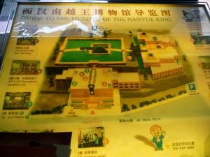 Plan Tombeau Roi des Yue du Sud