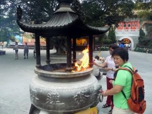 Prières Ile de Lantau