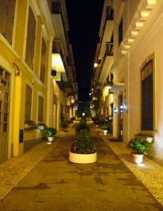 Ruelle Macao