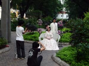 Mariés à Shamian Island