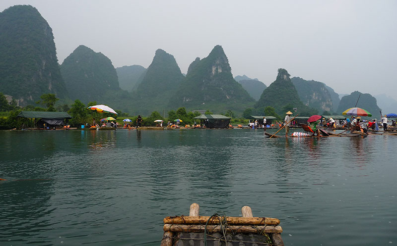 Voyage Yangshuo Chine