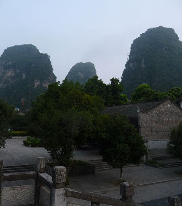 Yangshuo matin