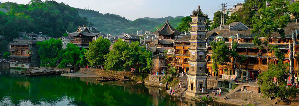 Fenghuang Chine Pagode