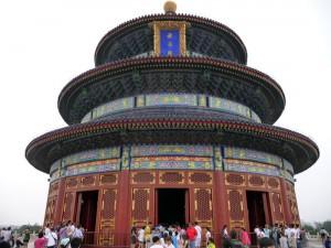 Temple Prière pour de bonnes moissons