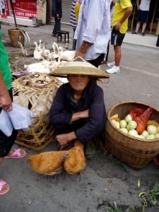 Mamie marché Hunan