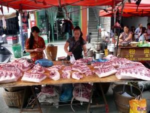 Viande Marché Hunan