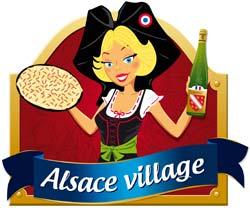 Alsace Village Logo