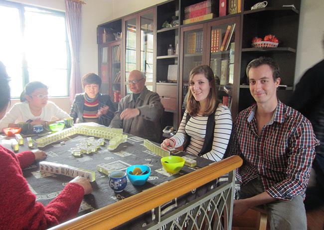 Mahjong chez Jing