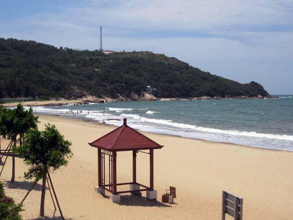 Yangjiang plage de Chine