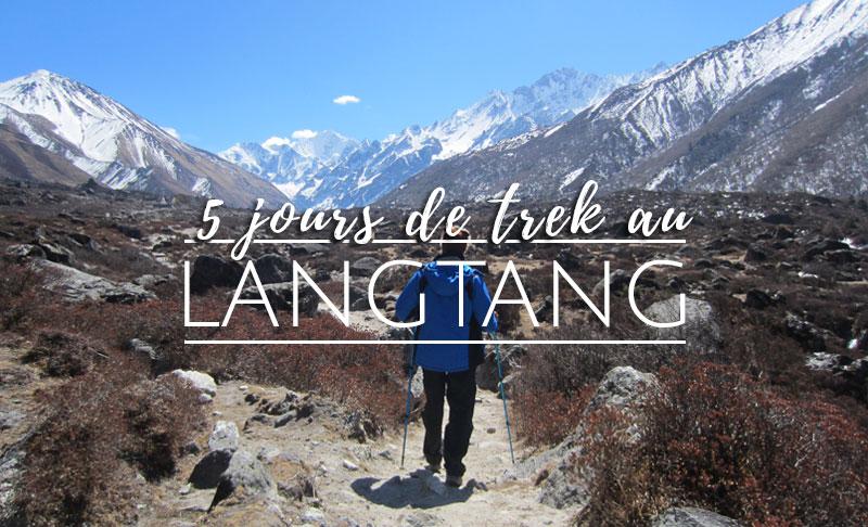 5 jours de trek au Népal