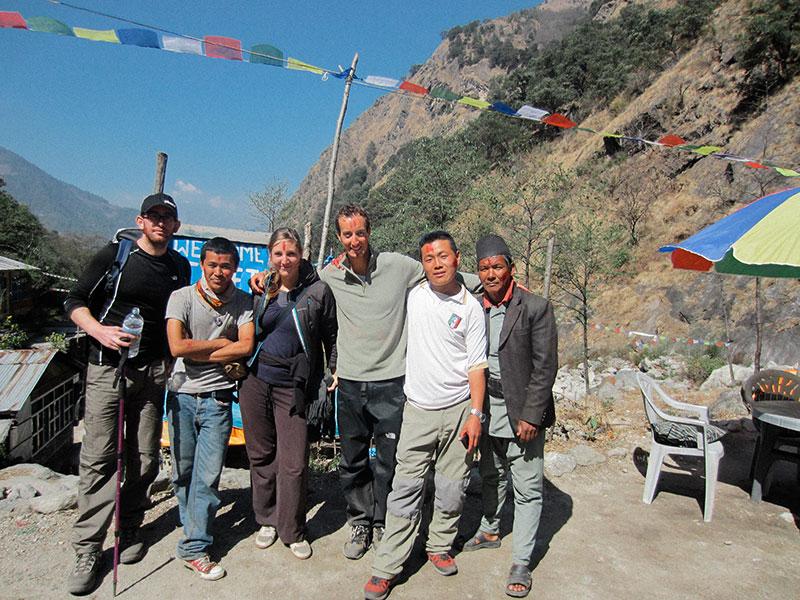 Happy Holi - Trek du Langtang