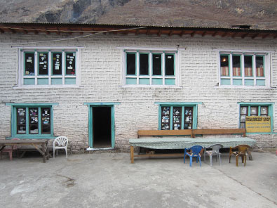 lodge du village du langtang