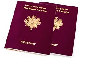 Passeport français pour la Chine