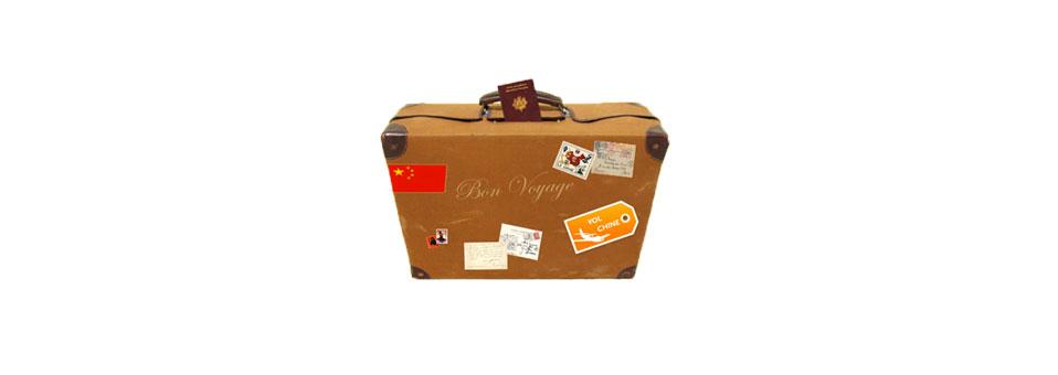 Préparation voyage en Chine