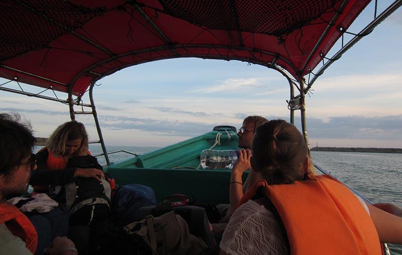 bateau Kuala Bezut - Perhentian