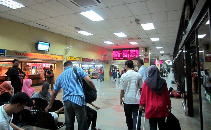gare routière Kuala Lumpur