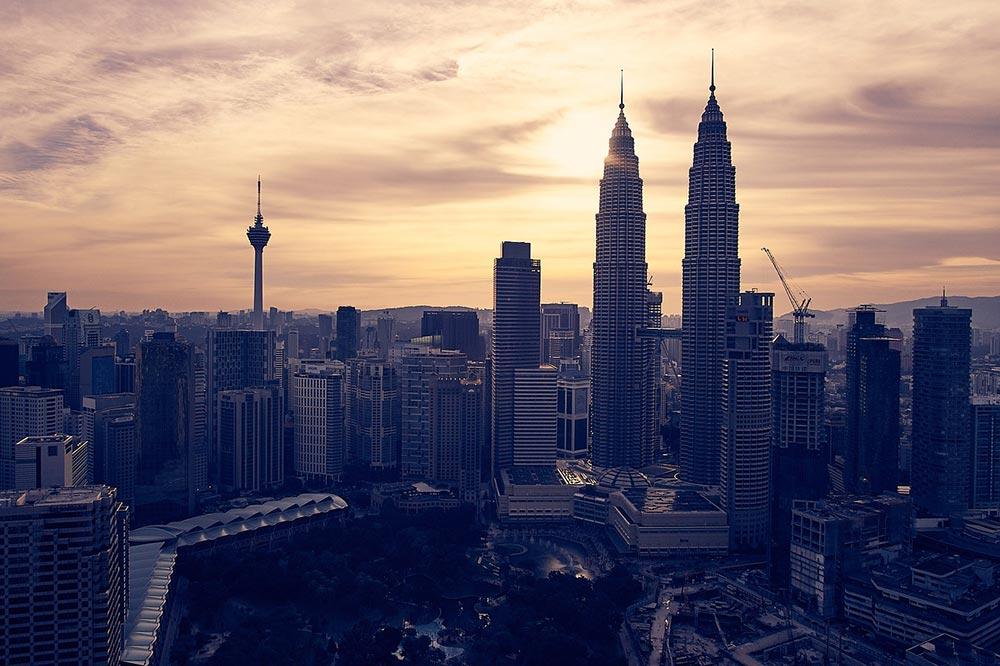 Kuala Lumpur on arrive