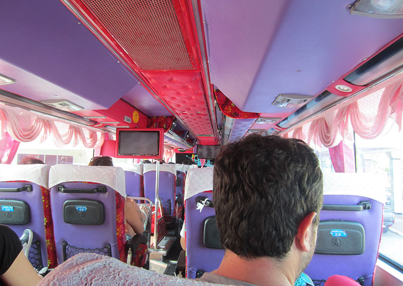 bus kitch Thailande