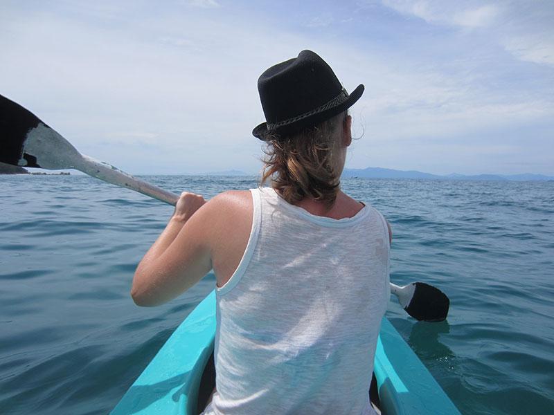 canoe ile perhentian