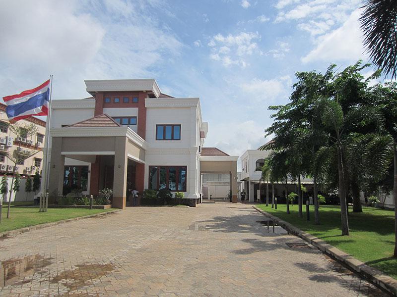 Ambassade thaïlandaise au Laos