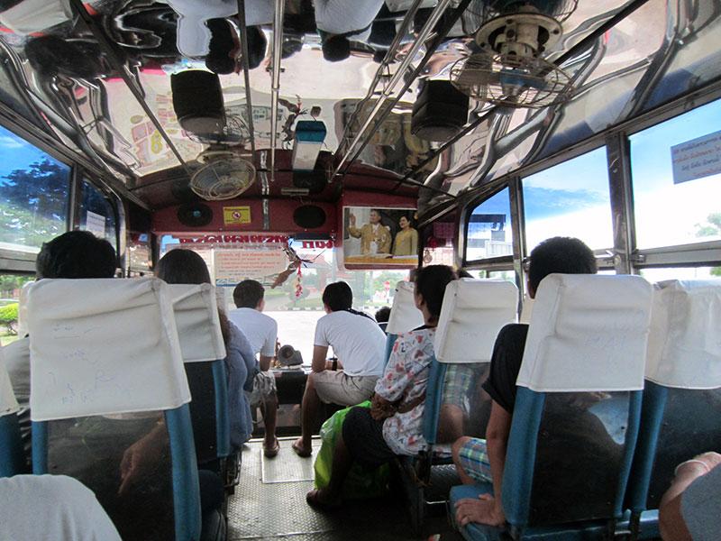 bus Thailande Laos