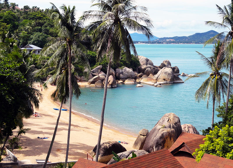 coral cove beach Koh Samui