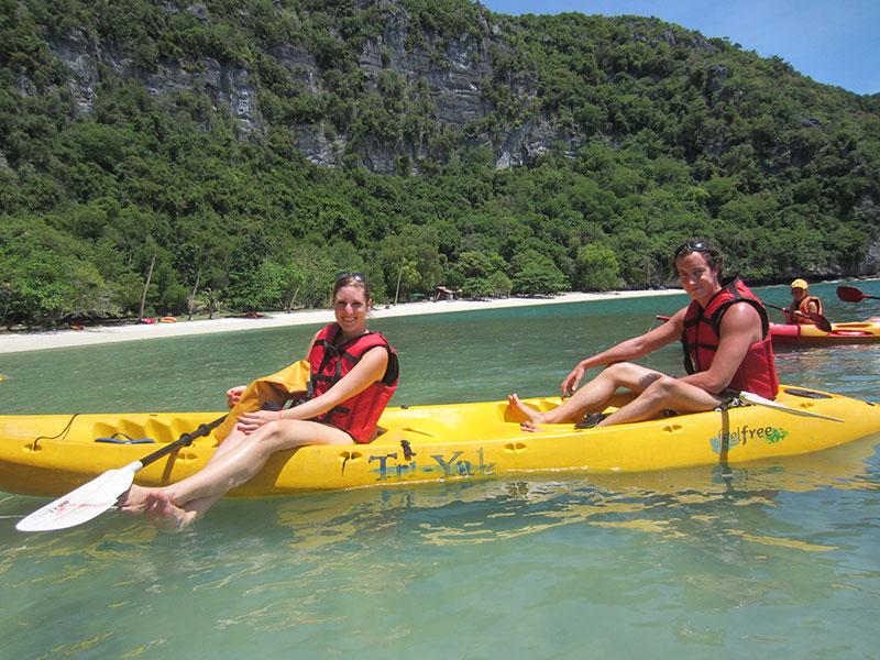 kayak Angthong Park
