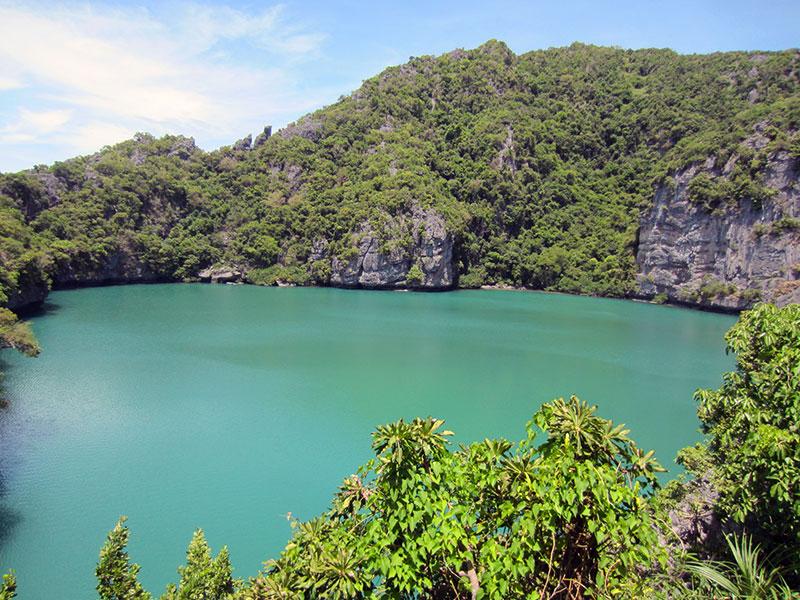 lac émeraude parc angthong