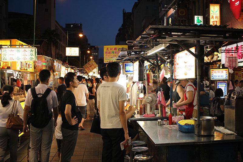 marché de nuit de Tapei