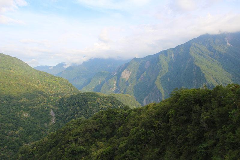 montagnes gorges de taroko