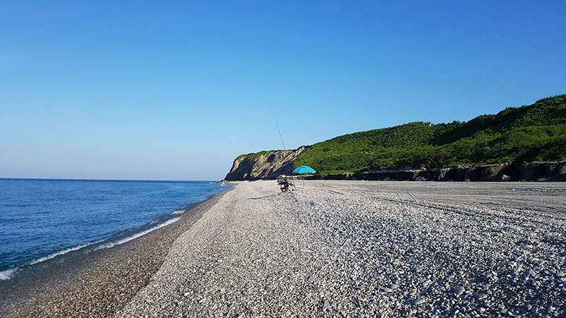 plage Qixingtan à Hualien