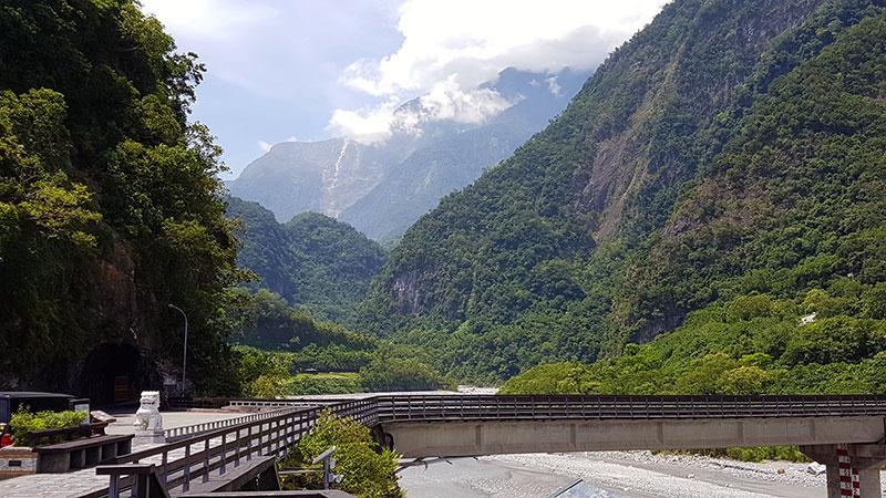 pont entrée Gorge de Taroko