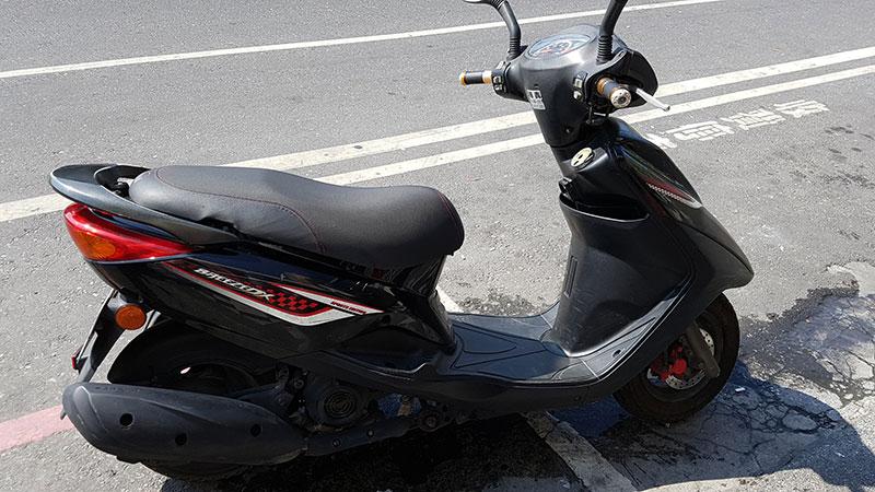 scooter loué à Hualien