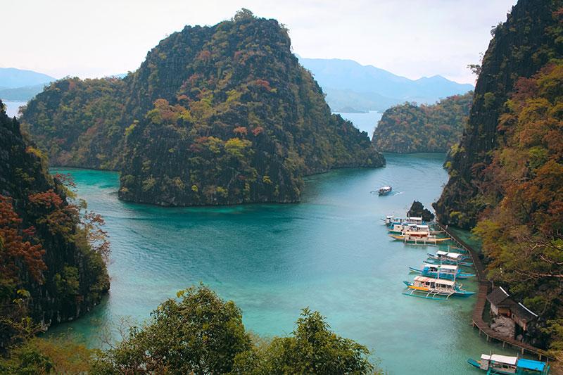 Kayagan Lake à Coron