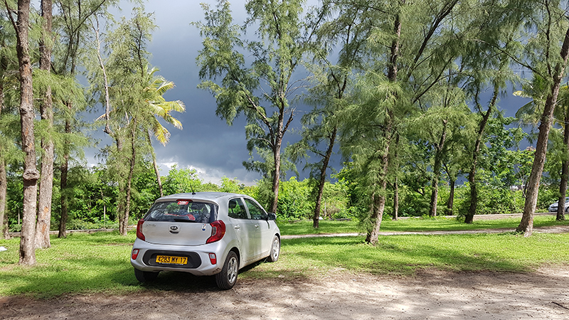 Location de voiture Île Maurice