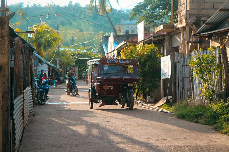 tuktuk à Coron