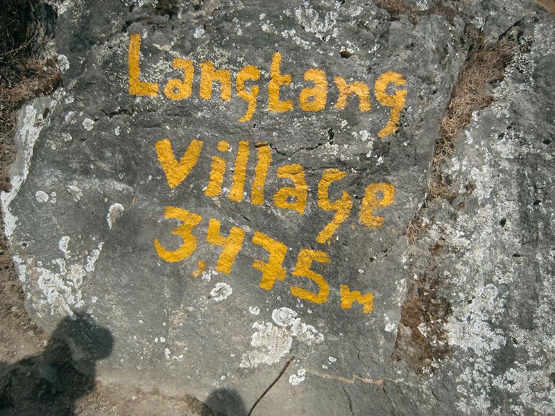 Village Langtang - Népal