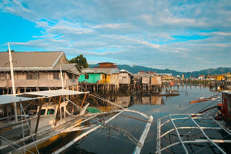 Village de Pêcheur à Coron