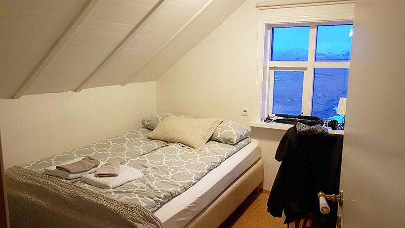 chambre d'hôtel en Islande l'hiver