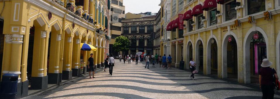 Macao rues Chine