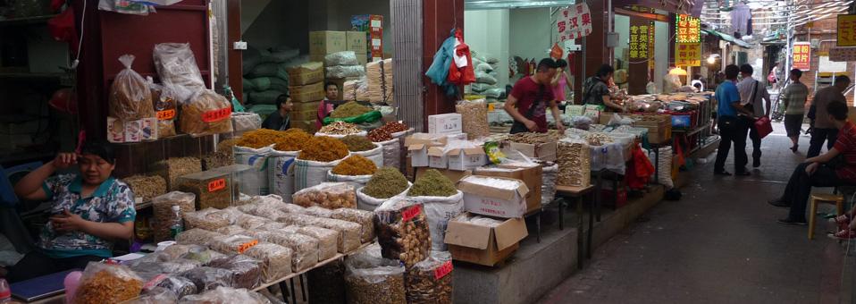 Marché Qingping Canton