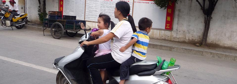Conduire en Chine