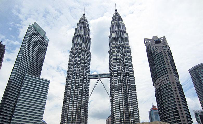 Arrivée à Kuala Lumpur