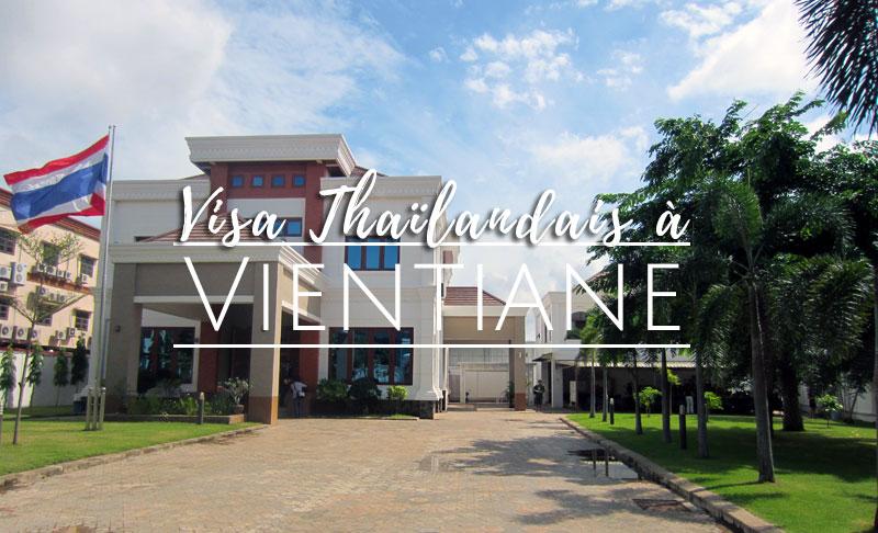 visa thailandais Laos