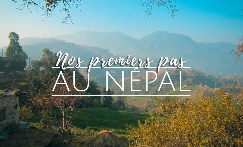 premiers pas au nepal